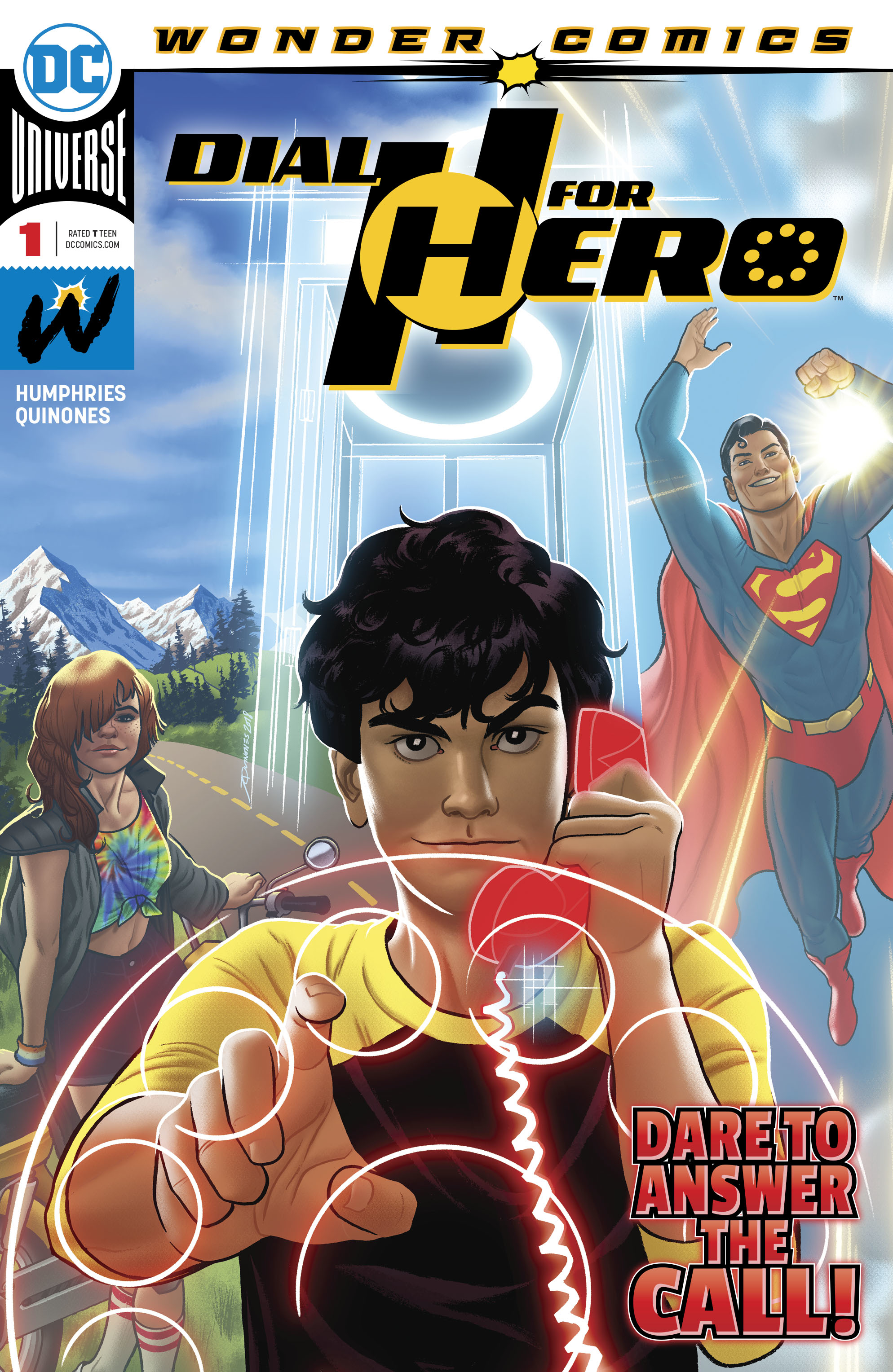 DIAL H FOR HERO #1 (OF 6)