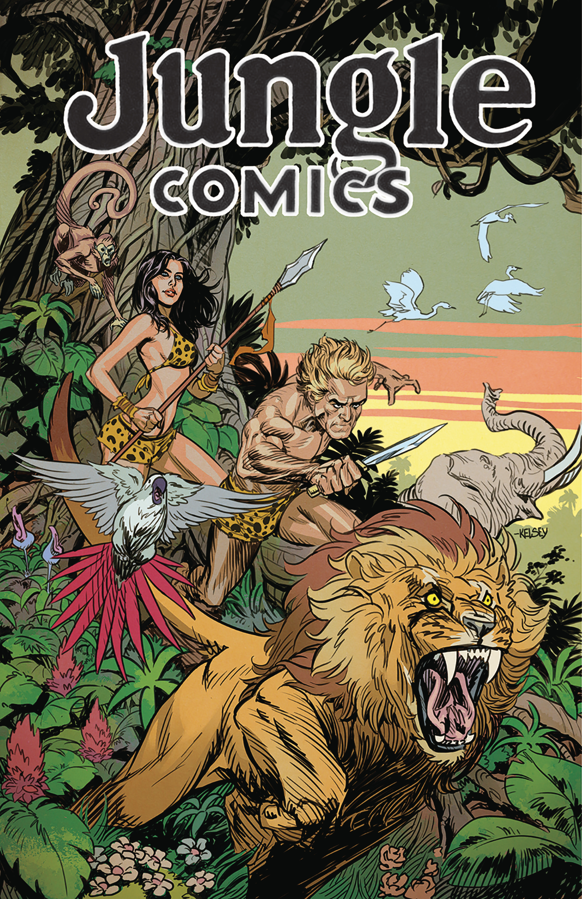 JUNGLE COMICS #1 MAIN CVR