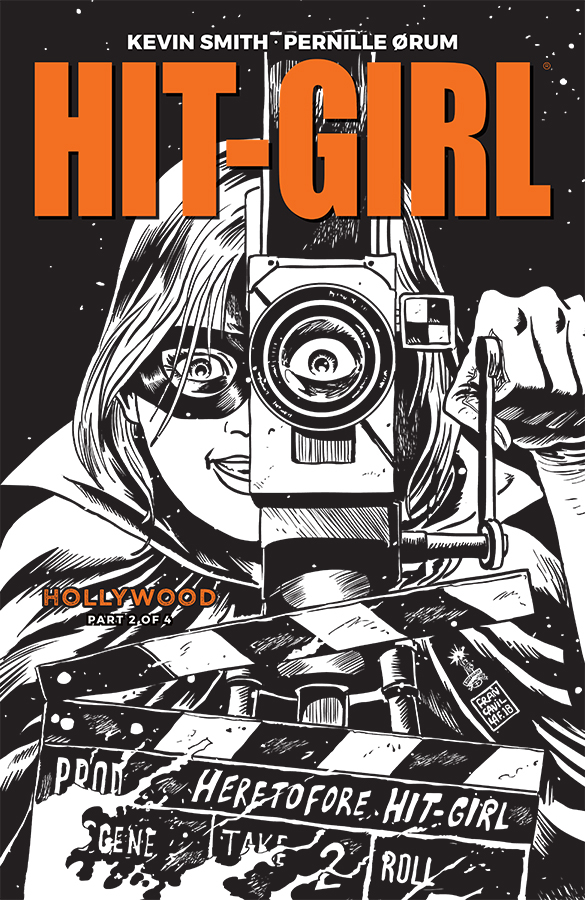 HIT-GIRL SEASON TWO #2 CVR B B&W FRANCAVILLA (MR)