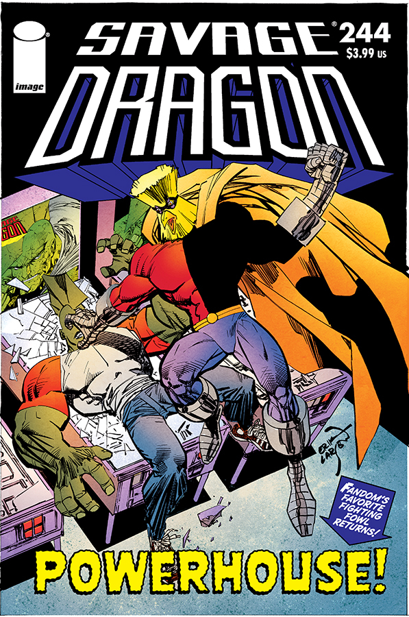 SAVAGE DRAGON #244 (MR)