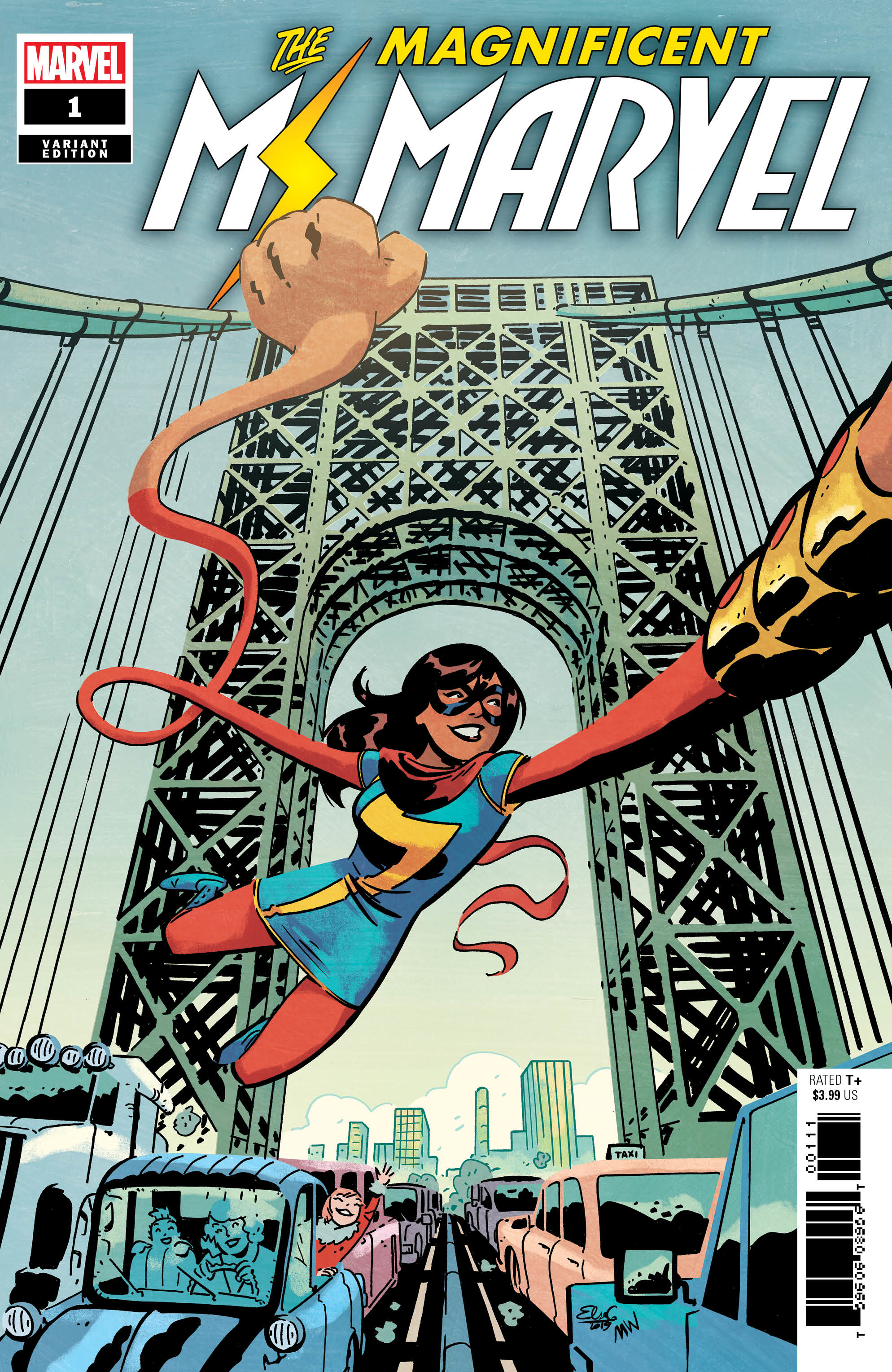 Image result for magnificent ms. marvel #1 Cover