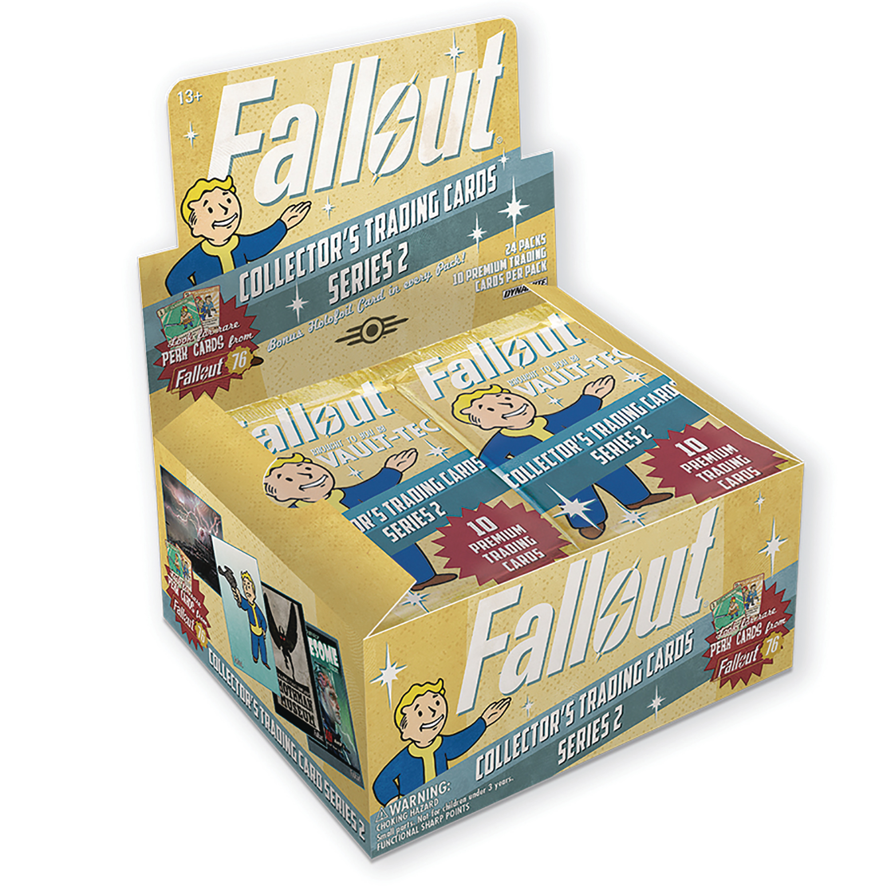 FALLOUT TRADING CARD SERIES 2 BOX