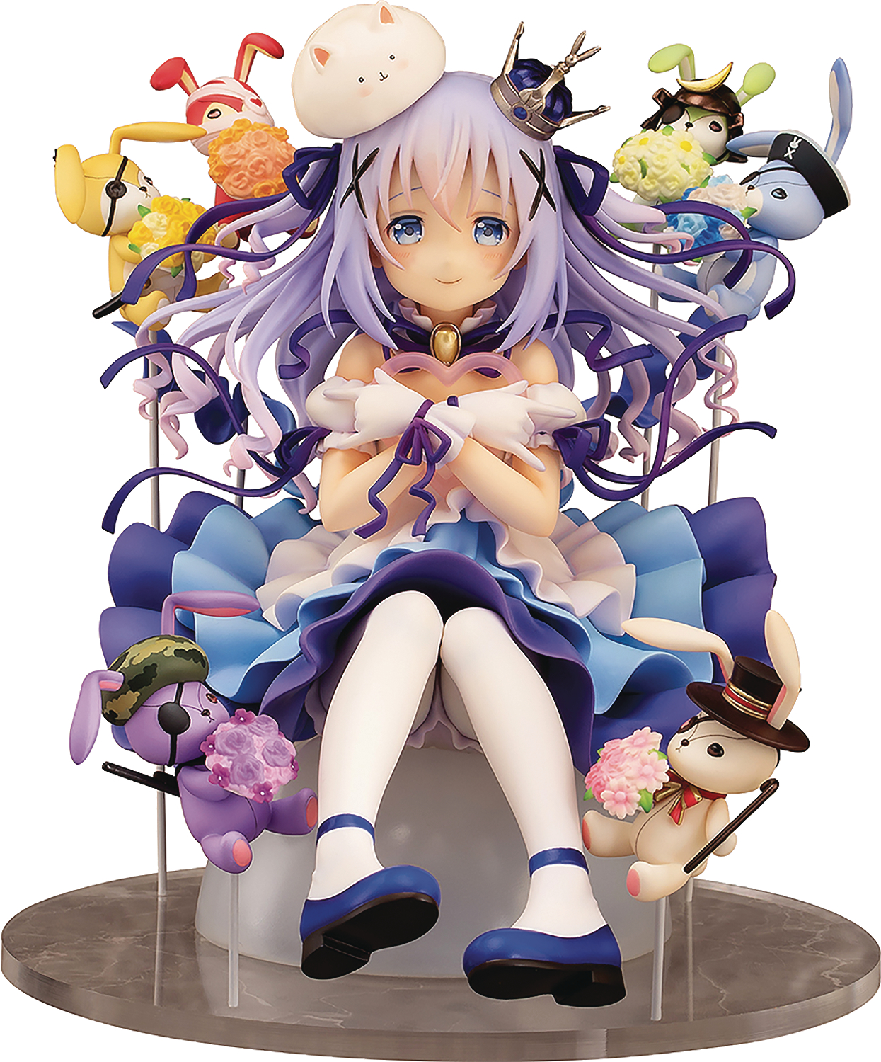 IS THE ORDER A RABBIT CHINO & RABBIT DOLLS 1/7 PVC FIG