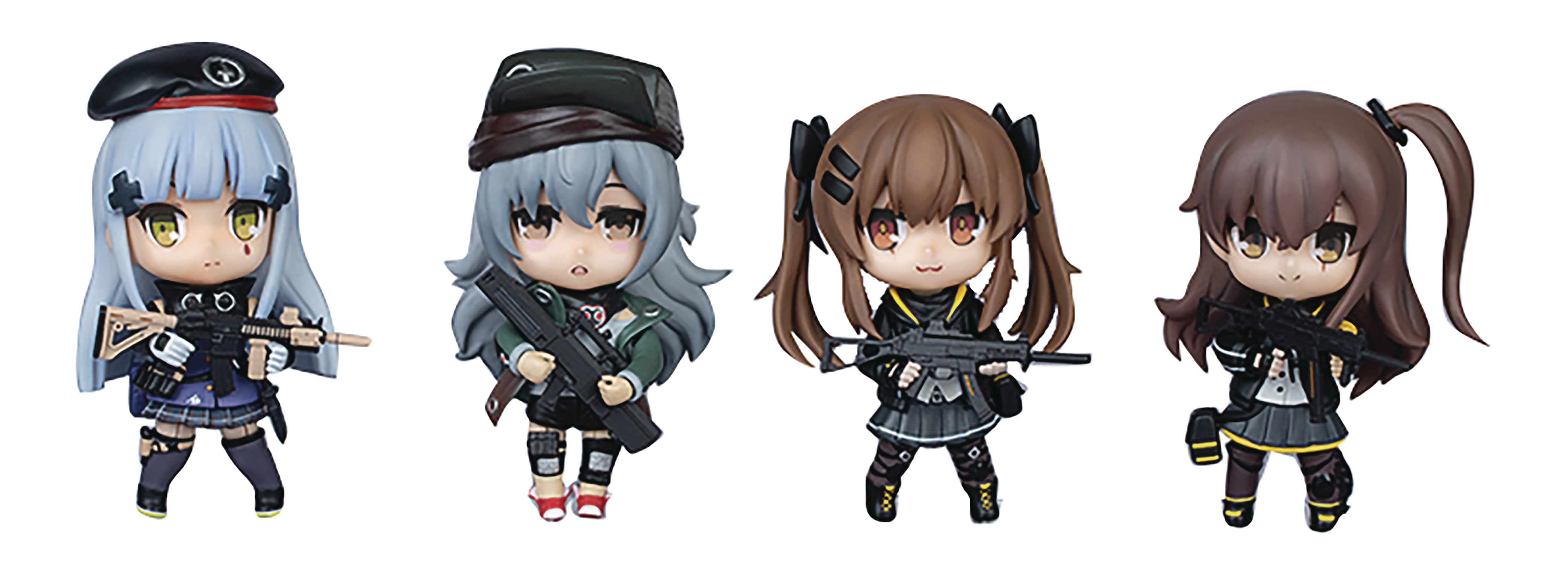 DOLLS FRONTLINE 404 TEAM OFFICIAL 4PC FIG SET