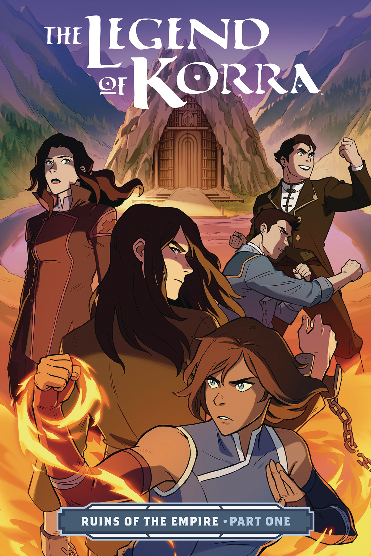 LEGEND OF KORRA TP PART 01 RUINS OF EMPIRE