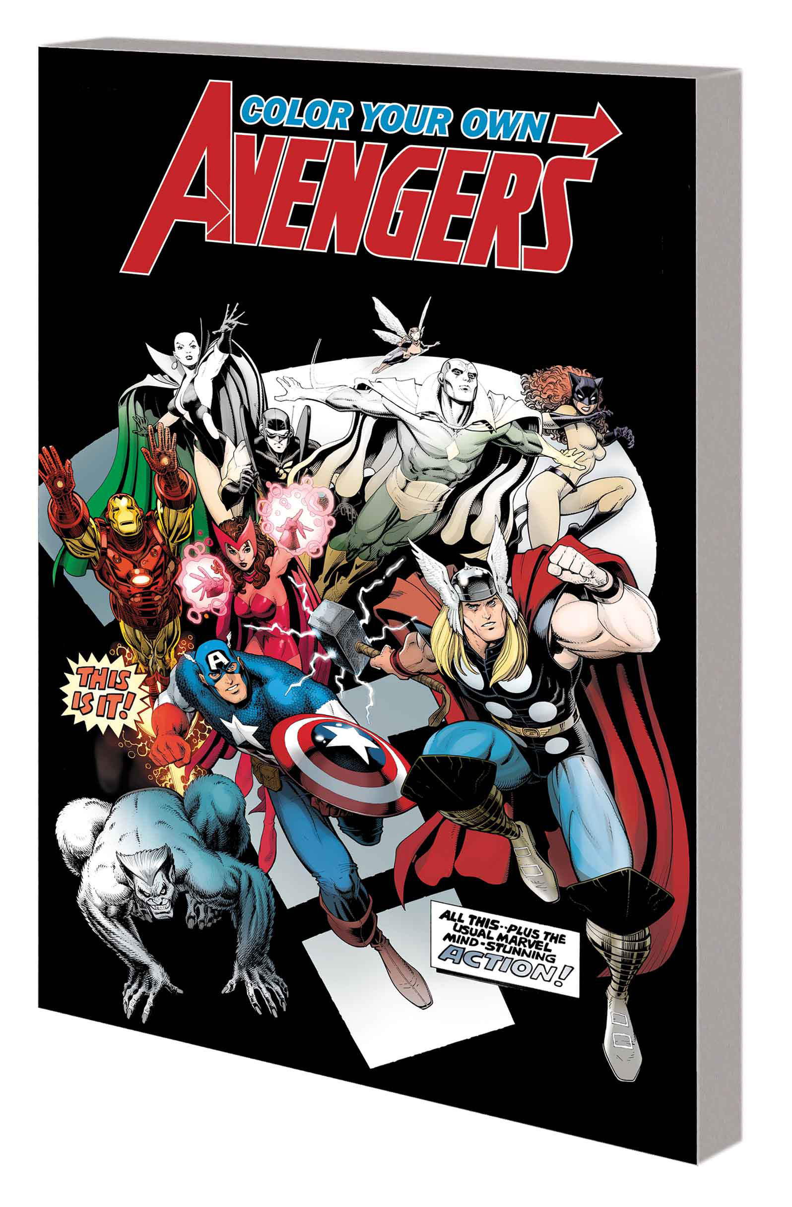 COLOR YOUR OWN AVENGERS 2 TP EARTHS MIGHTIEST HEROES