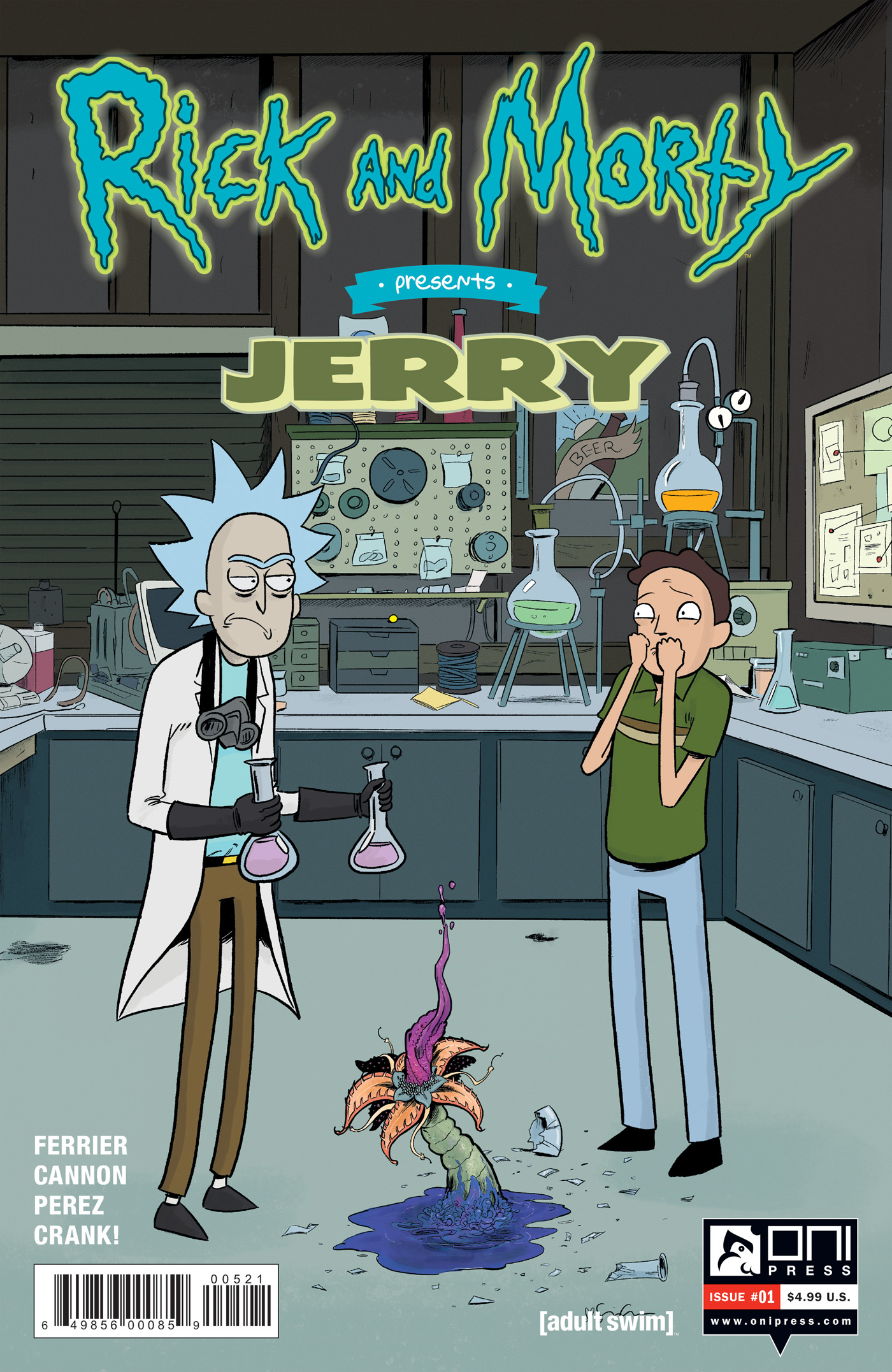 RICK & MORTY PRESENTS JERRY #1 CVR B GRACE