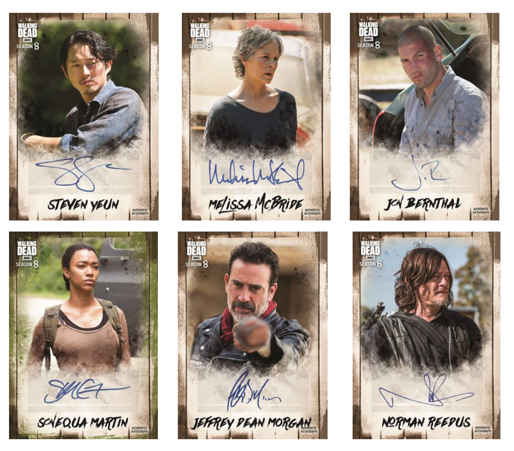 TOPPS 2018 WALKING DEAD AUTO COLL T/C PACK (Net)