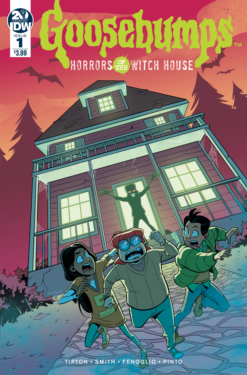 GOOSEBUMPS HORRORS OF THE WITCH HOUSE #1 FENOGLIO