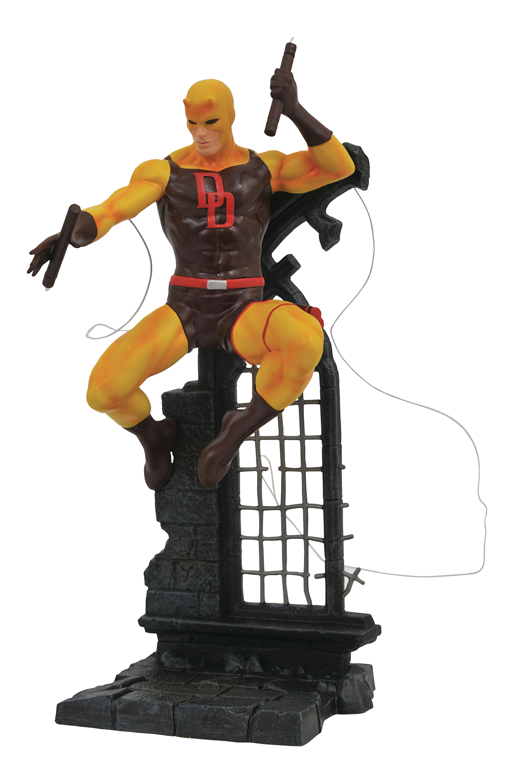 RETAILER SUMMIT 2019 MARVEL GALLERY YELLOW DAREDEVIL PVC FIG