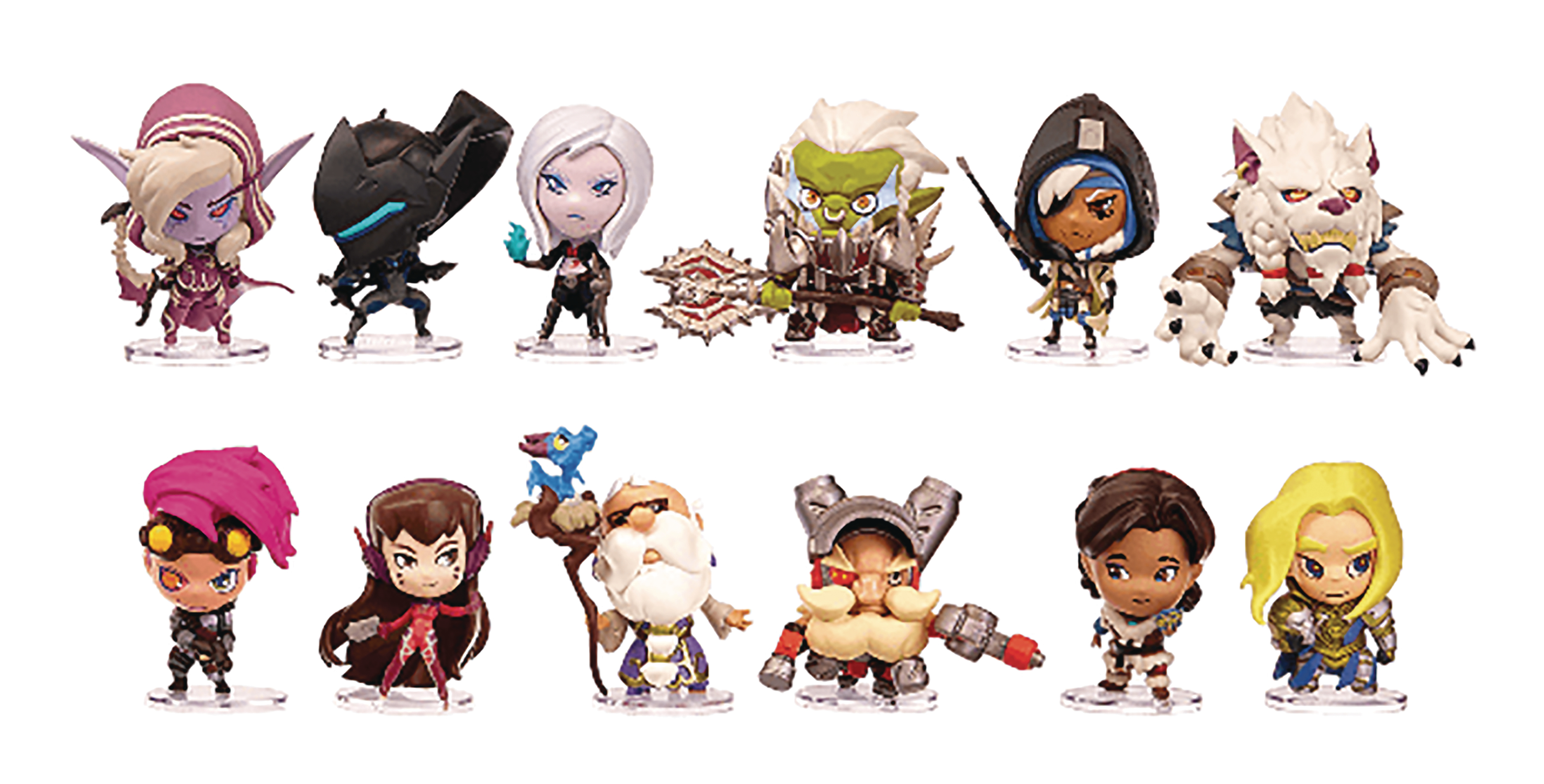 CUTE BUT DEADLY SER 4 BLIZZARD FIG 12PC BMB DS (OCT188806) (