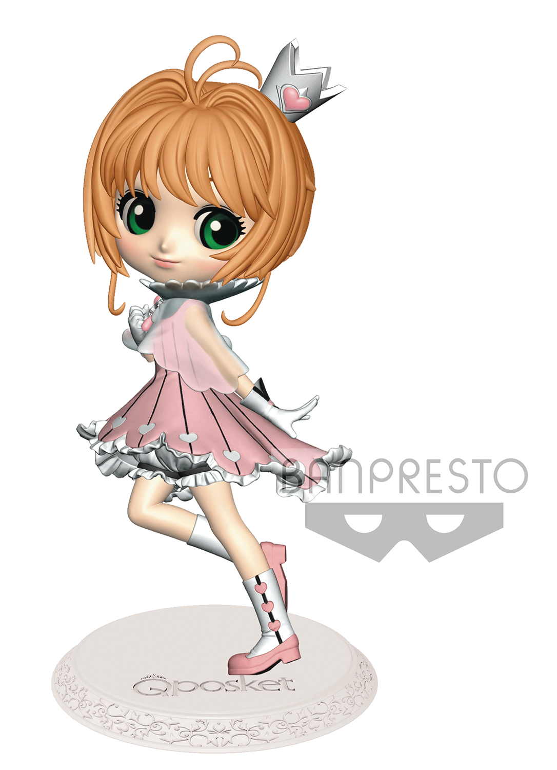 CARDCAPTOR SAKURA CLEAR CARD SAKURA Q-POSKET VER2 COLOR FIG