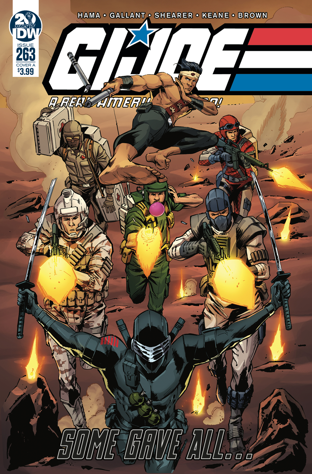 GI JOE A REAL AMERICAN HERO #263 CVR A GALLANT