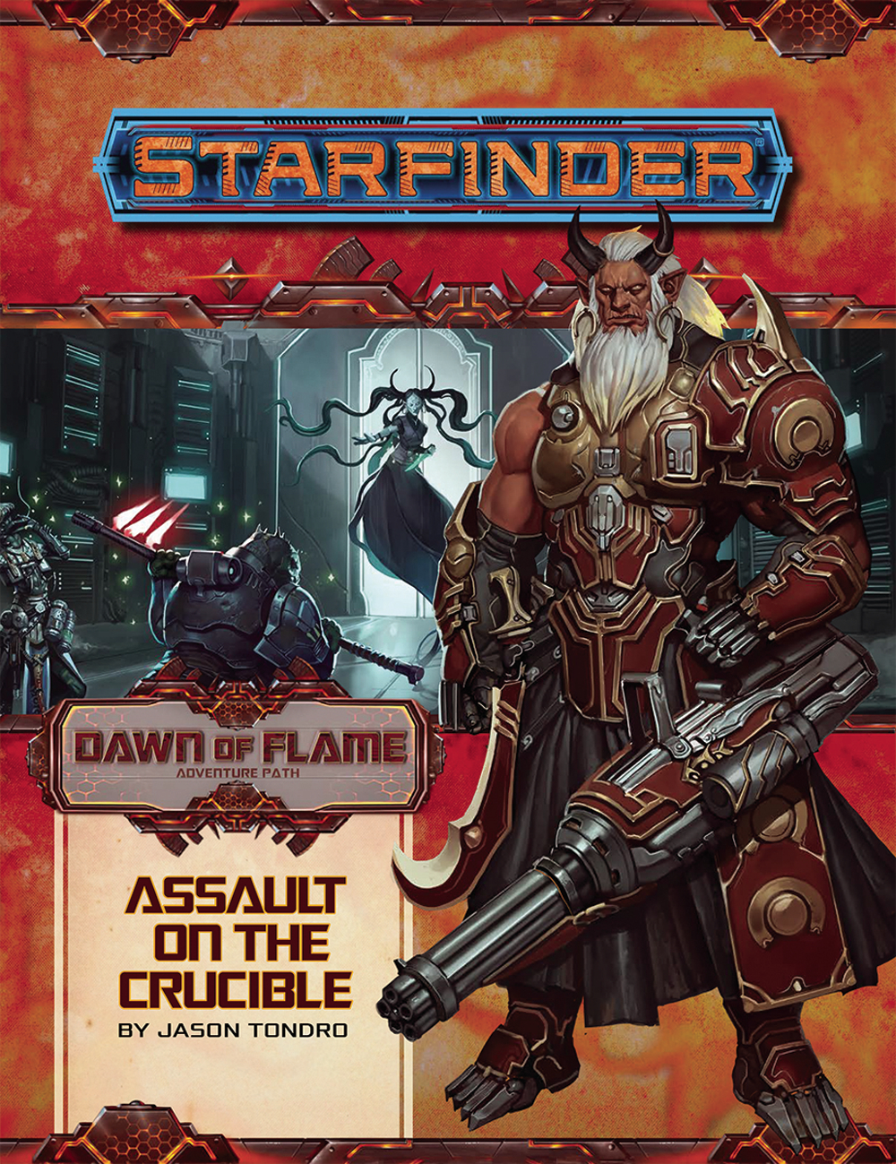 STARFINDER ADV PATH FIRE STARTERS DAWN FLAME PT 6 OF 6
