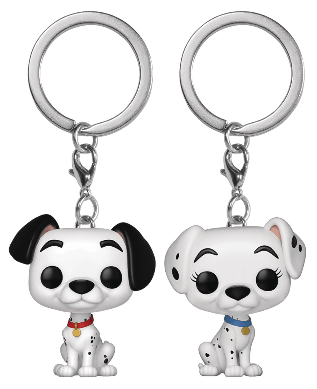 POP KEYCHAIN DALMATIONS PONGO & PERDITA 2PK VIN FIG