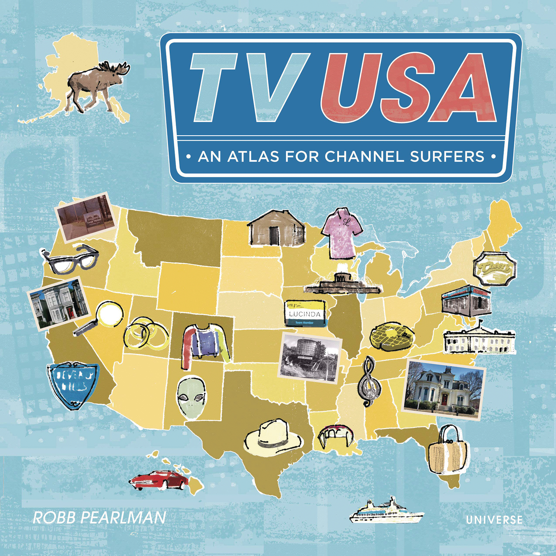 TV USA AN ATLAS FOR CHANNEL SURFERS SC