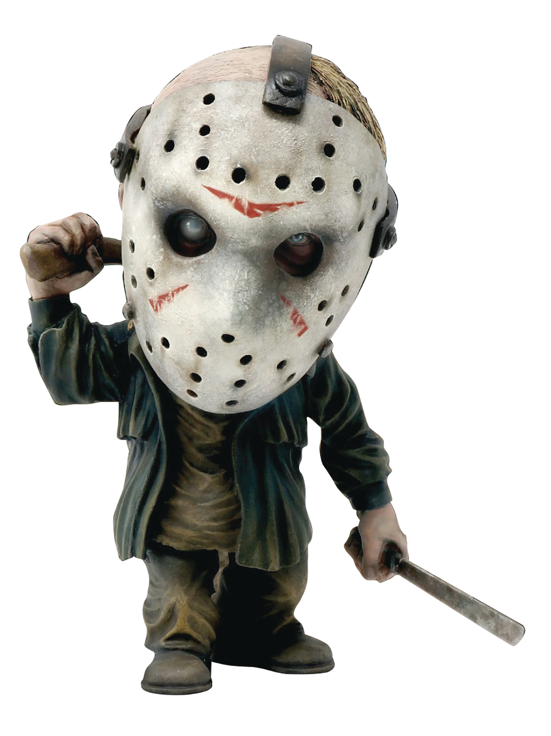 FRIDAY THE 13TH JASON DEFO REAL SOFT VINYL STATUE DLX VER (N