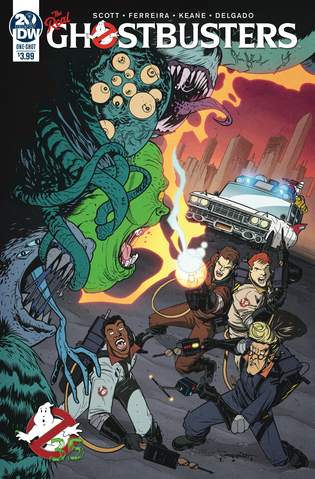 GHOSTBUSTERS 35TH ANNIV REAL GHOSTBUSTERS FERREIRA