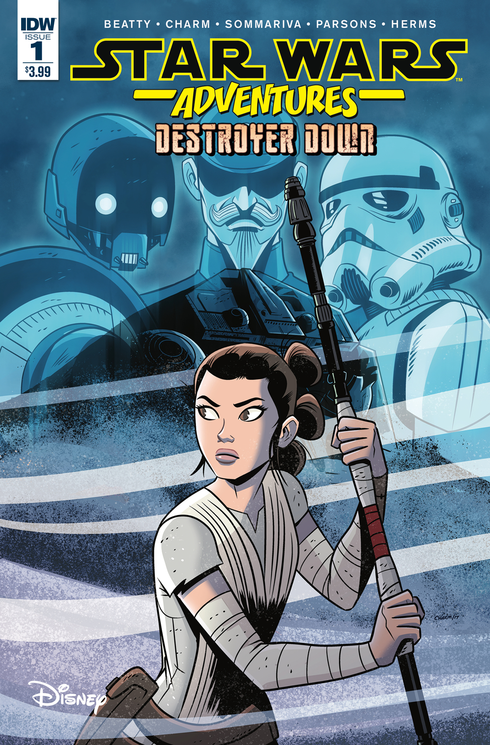 STAR WARS ADVENTURES TP DESTROYER DOWN (FEB190685)