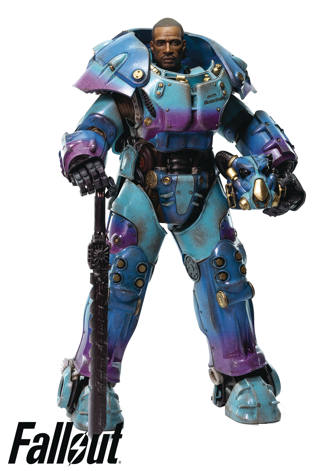 FALLOUT X-01 POWER ARMOR QUANTUM VAR PX ED 1/6 SCALE FIG (NE