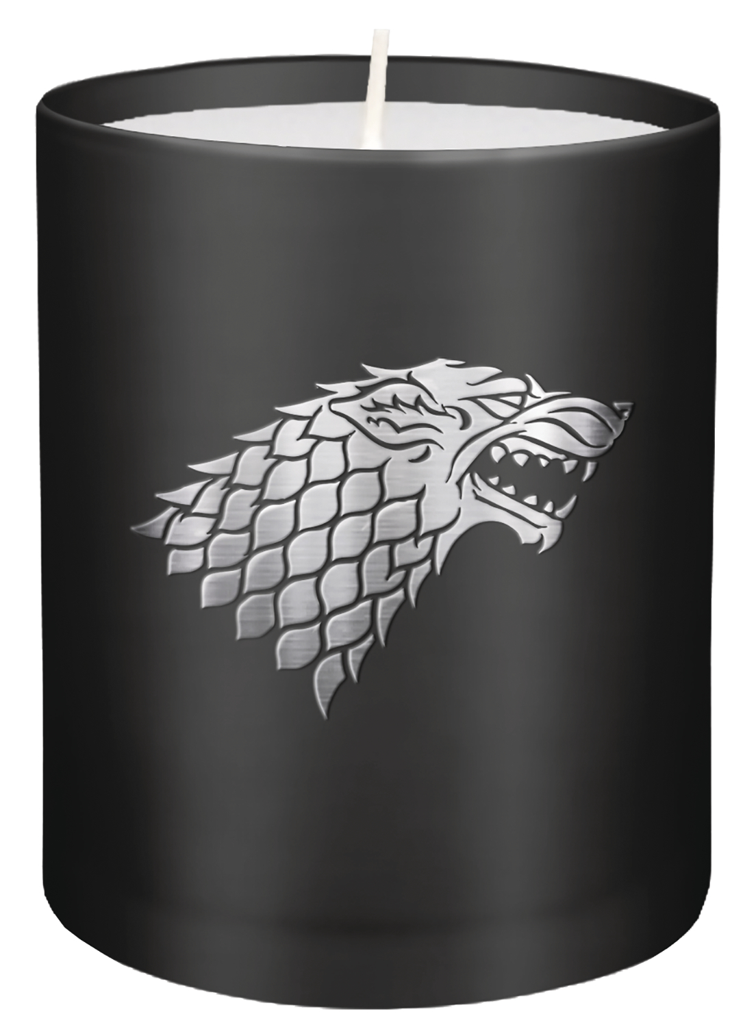 GAME OF THRONES STARK GLASS CANDLE