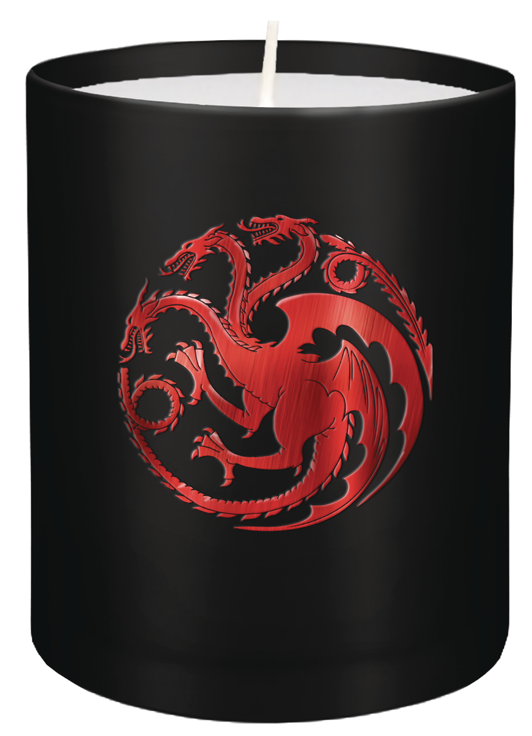 GAME OF THRONES TARGARYEN GLASS CANDLE