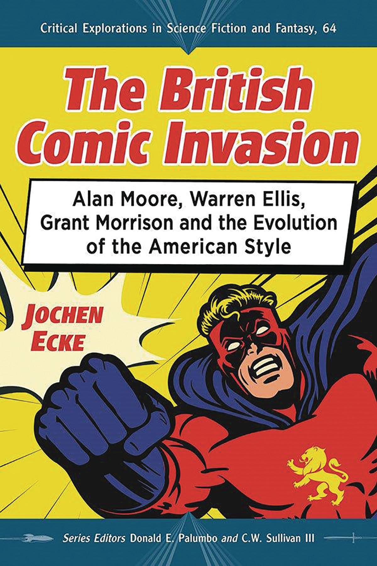 BRITISH COMIC BOOK INVASION SC