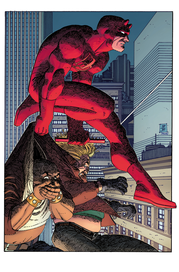 DAREDEVIL #4 JRJR HIDDEN GEM VAR