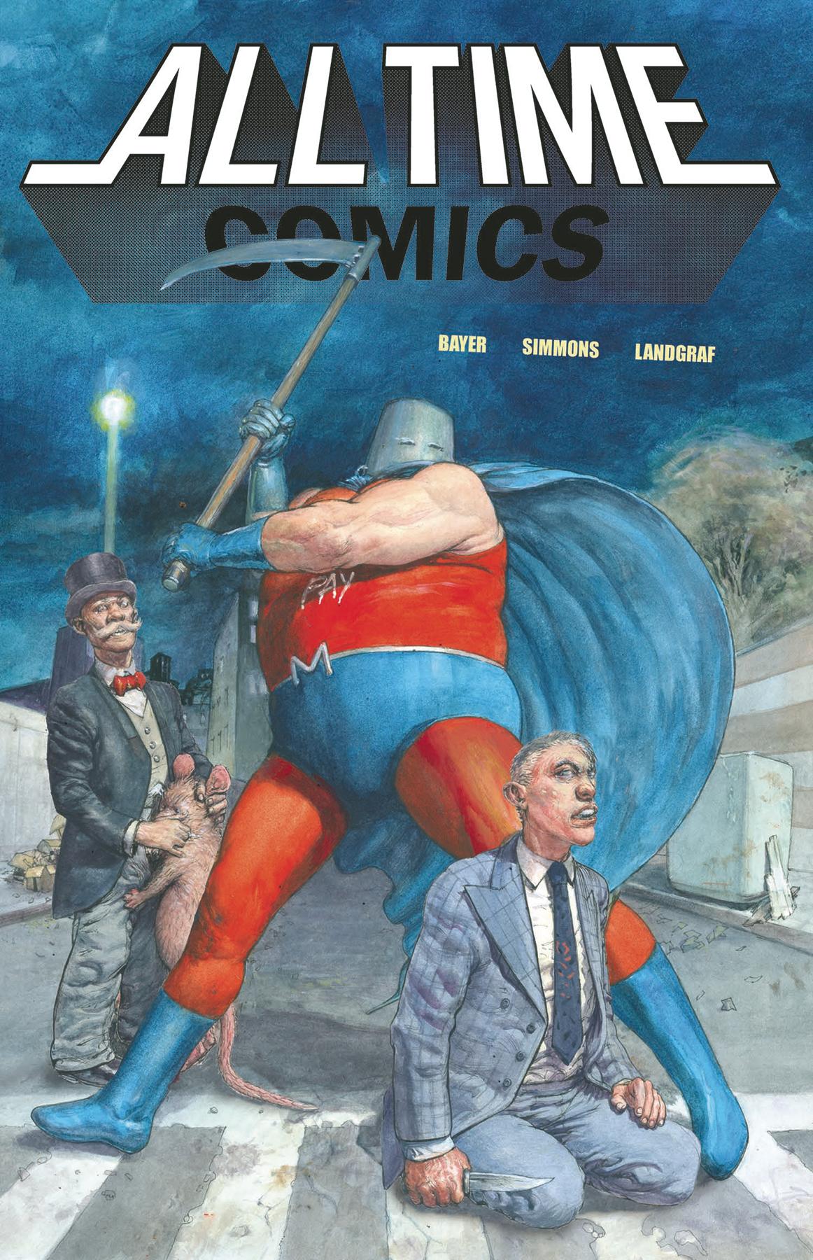 ALL TIME COMICS ZEROSIS DEATHSCAPE #0 (MR)
