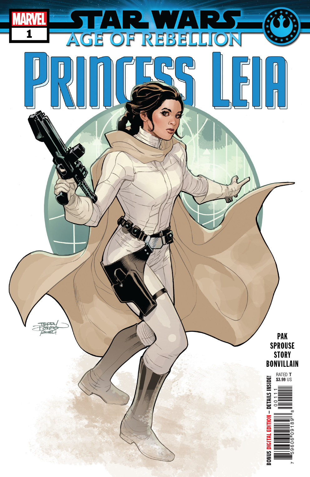 STAR WARS AOR PRINCESS LEIA #1