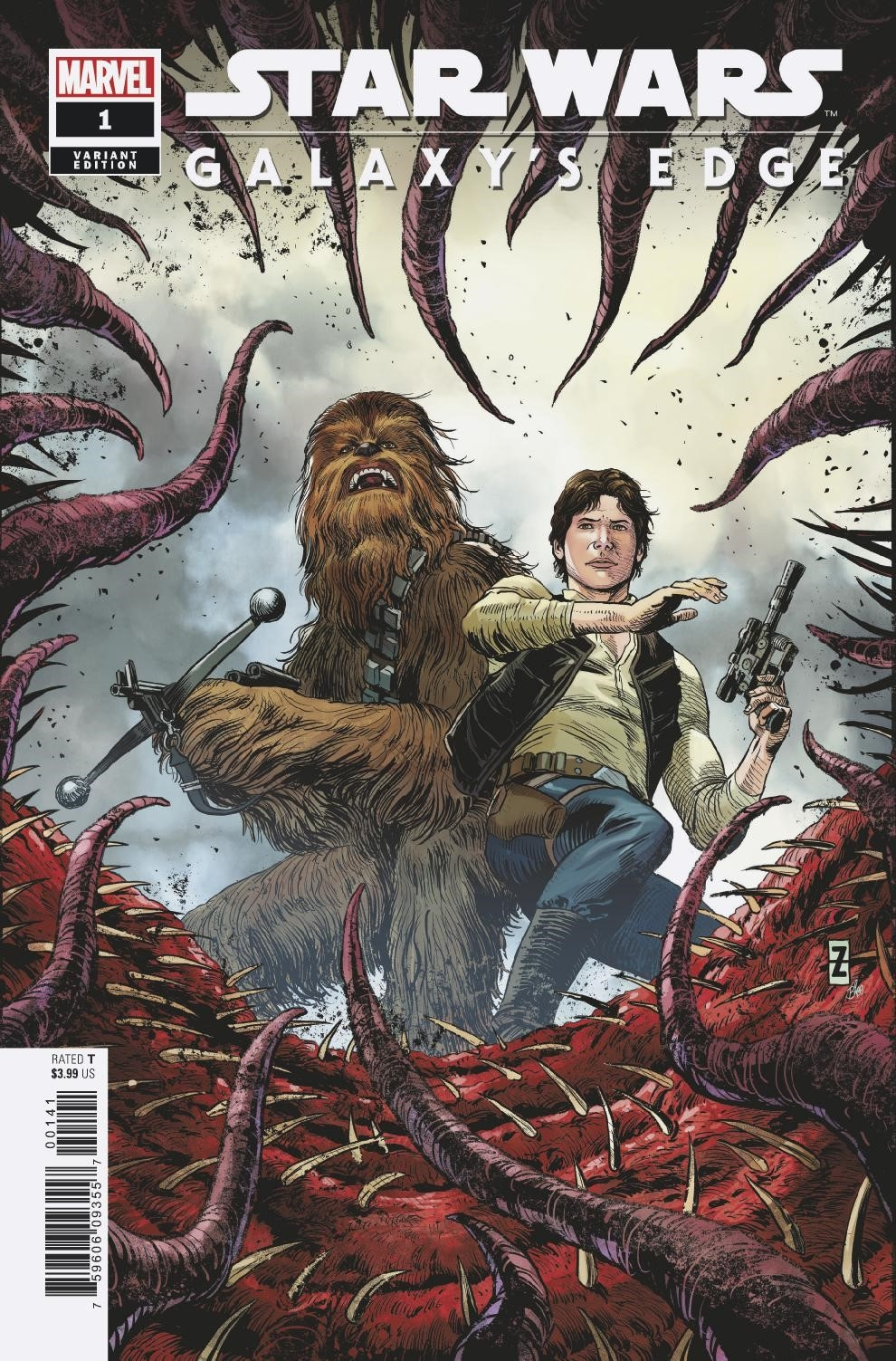 STAR WARS GALAXYS EDGE #1 (OF 5) ZIRCHER VAR