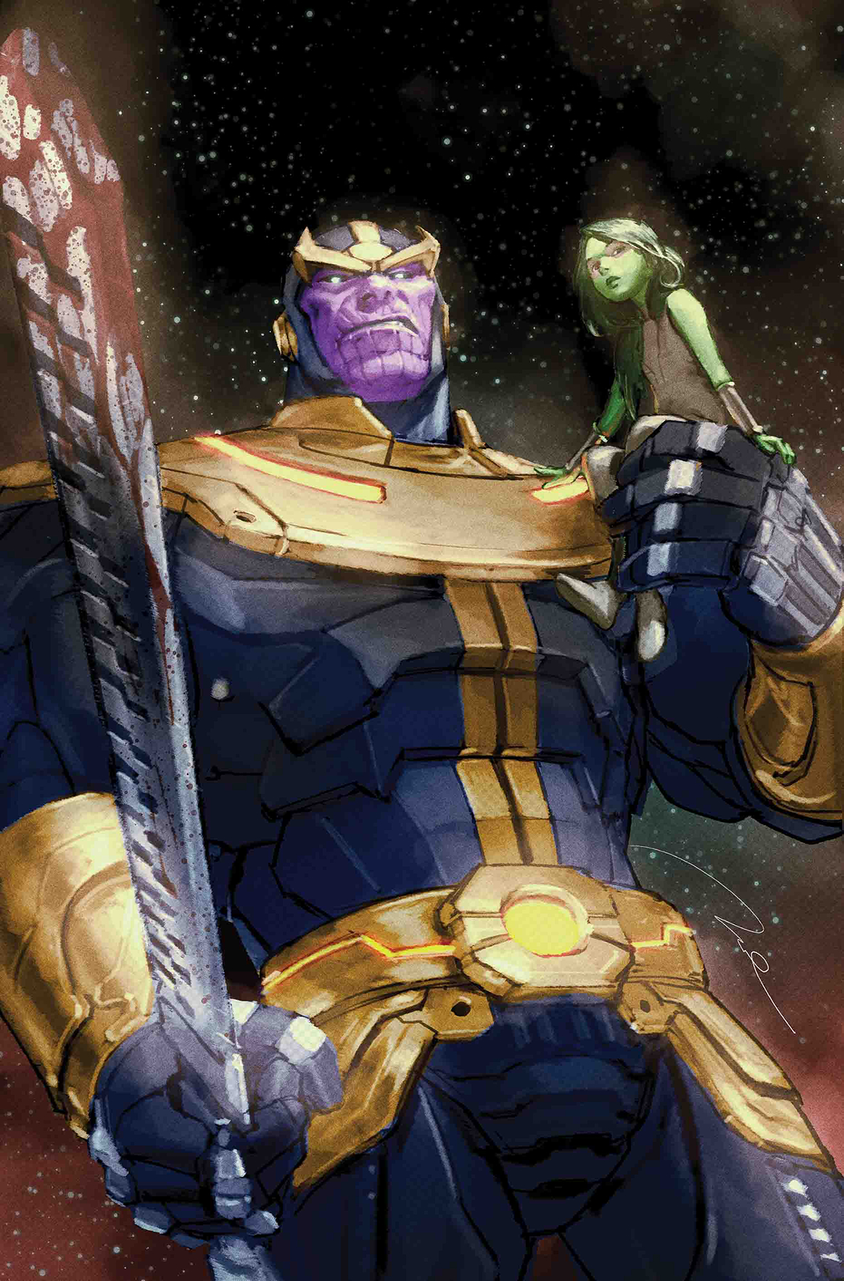THANOS #1 (OF 6) PAREL VAR