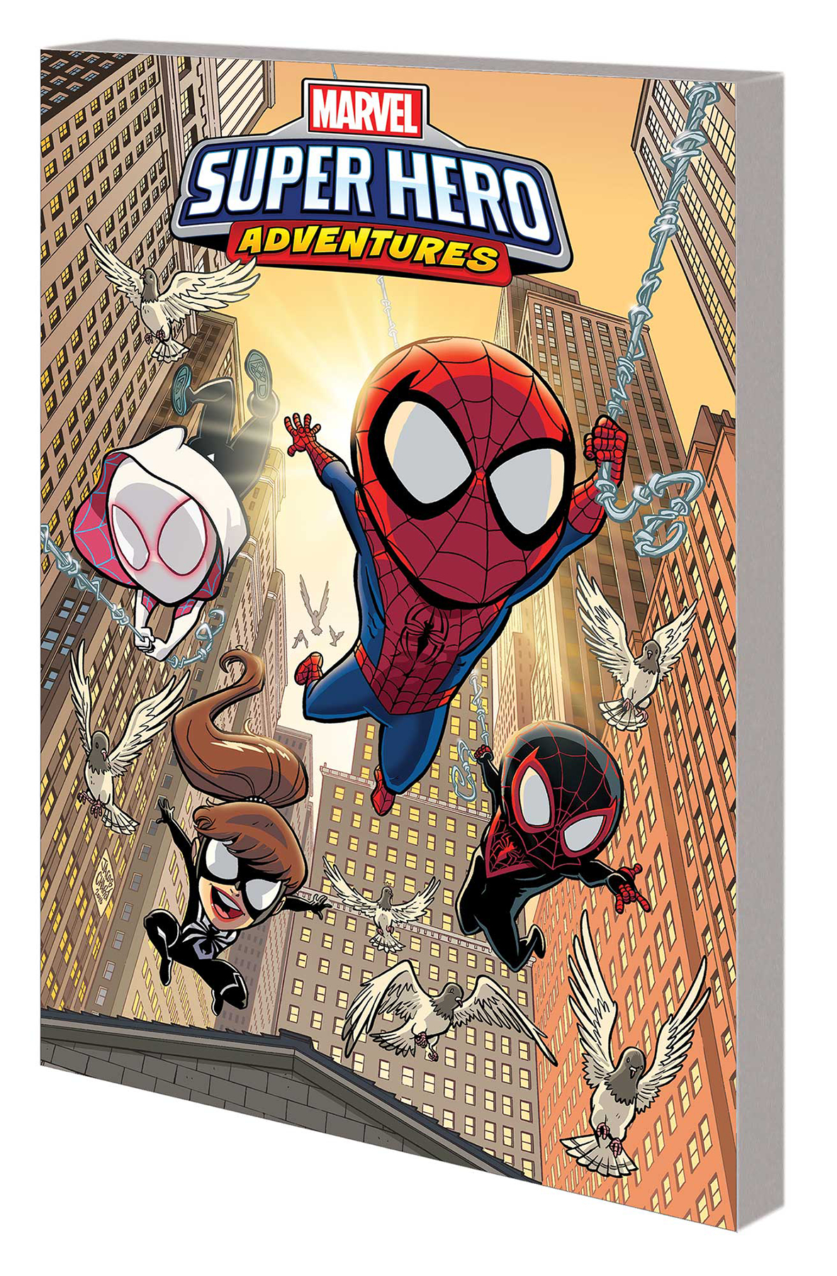 MARVEL SUPER HERO ADVENTURES GN TP SPIDER-MAN