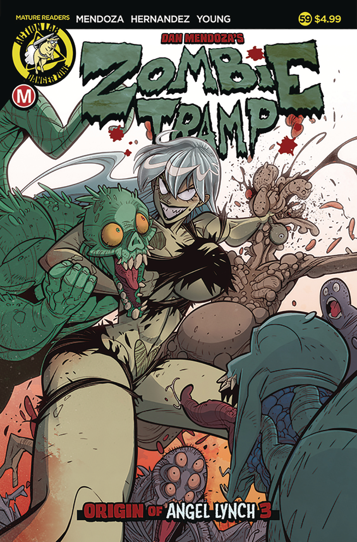 ZOMBIE TRAMP ONGOING #59 CVR A MACCAGNI (MR)