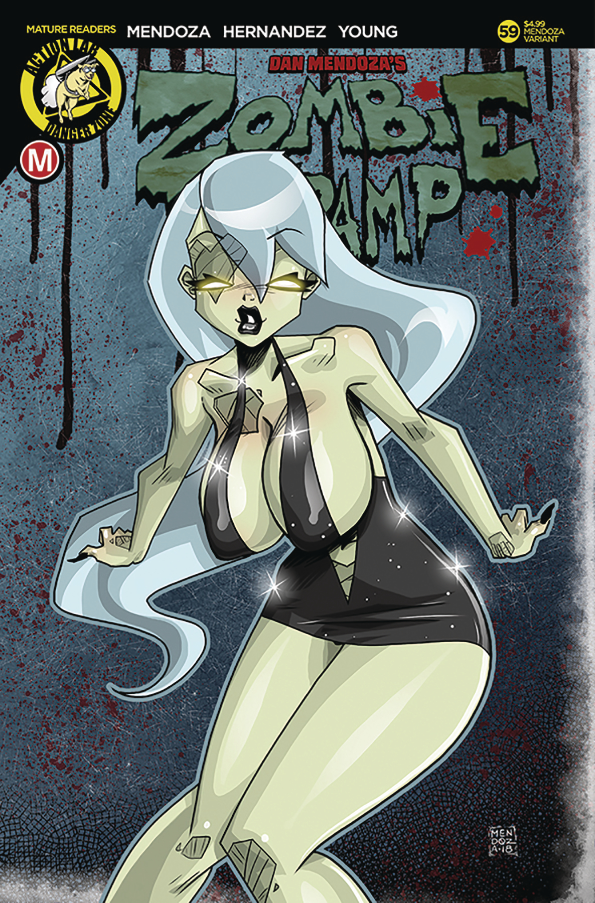 ZOMBIE TRAMP ONGOING #59 CVR E MENDOZA RISQUE LTD ED (MR)