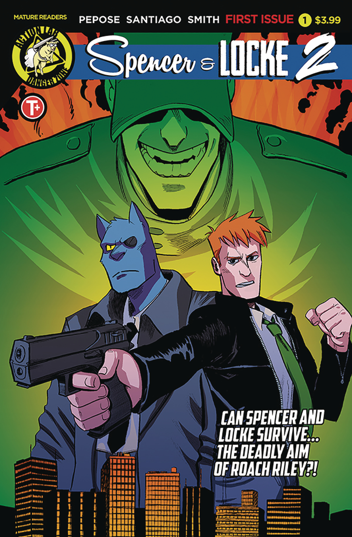 Image result for spencer and locke 2 issue 1