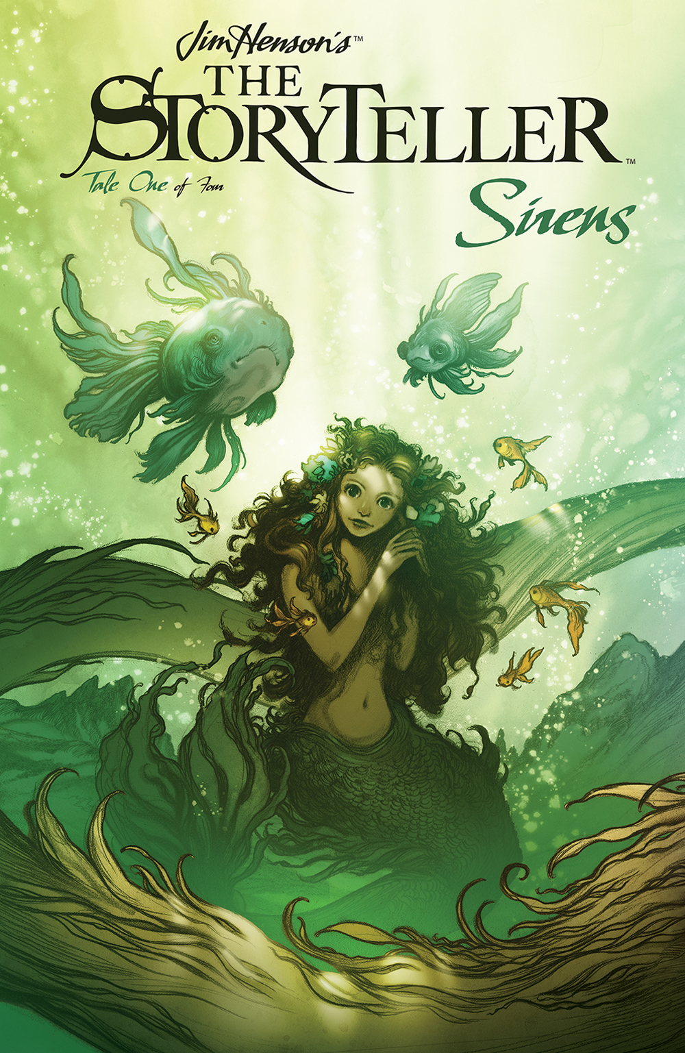 Image result for jim henson storyteller sirens #1