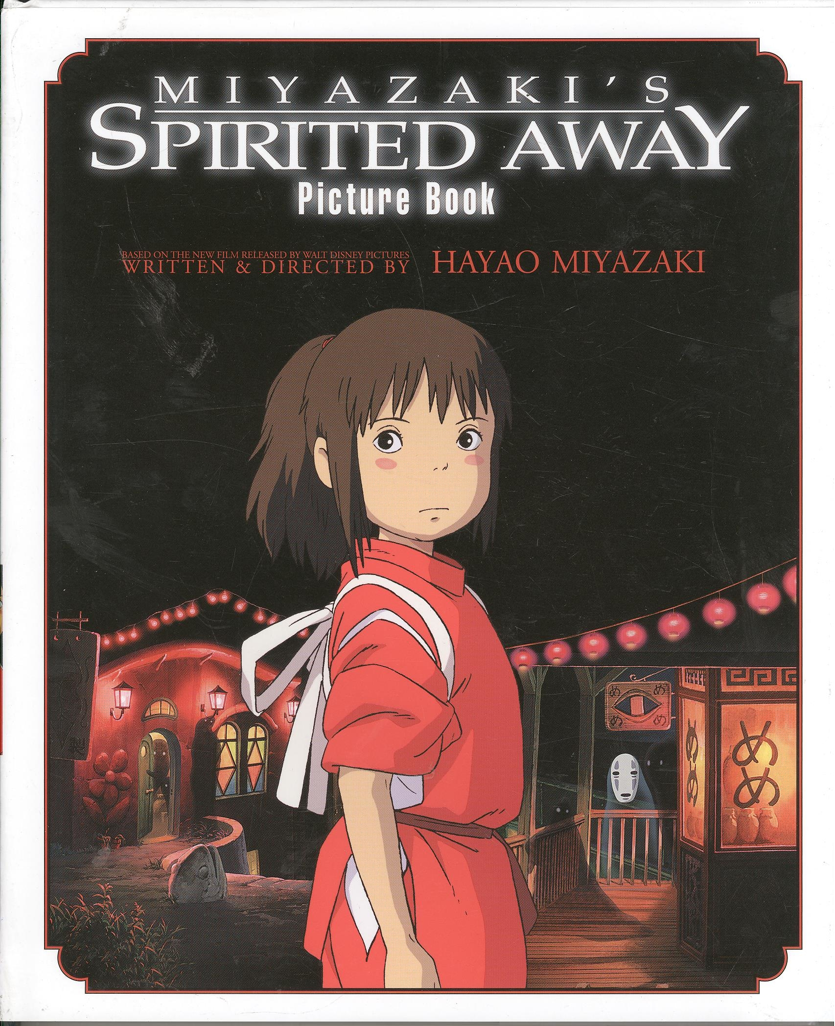SPIRITED AWAY PICTURE BOOK HC GHIBLI