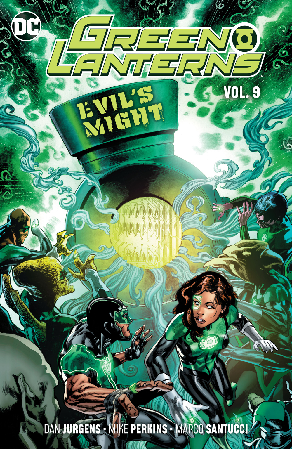 GREEN LANTERNS TP VOL 09 EVILS MIGHT