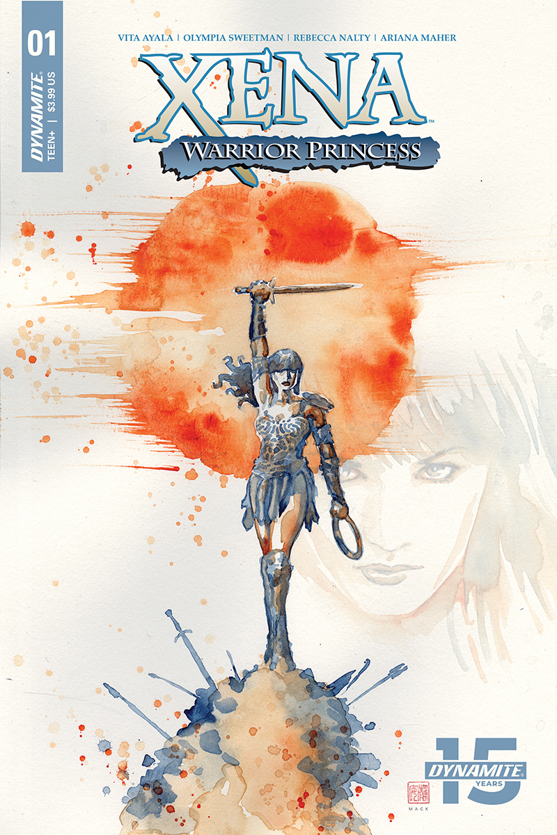 XENA WARRIOR PRINCESS #1 CVR A MACK