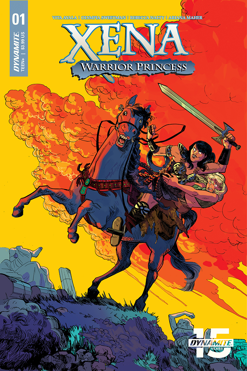XENA WARRIOR PRINCESS #1 CVR C HENDERSON