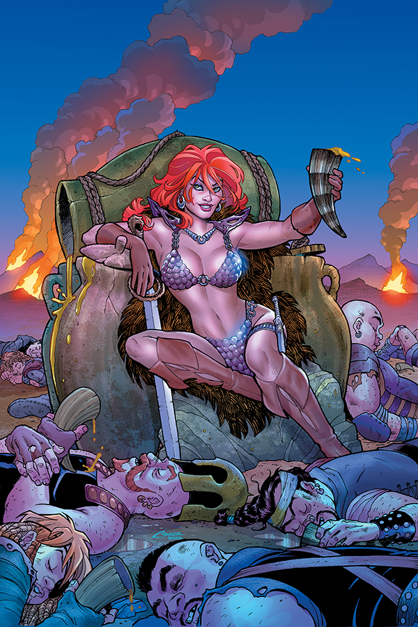 RED SONJA #3 CONNER VIRGIN CVR