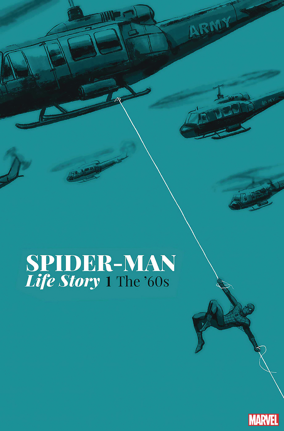 DF SPIDER-MAN LIFE STORY #1 SGN BAGLEY