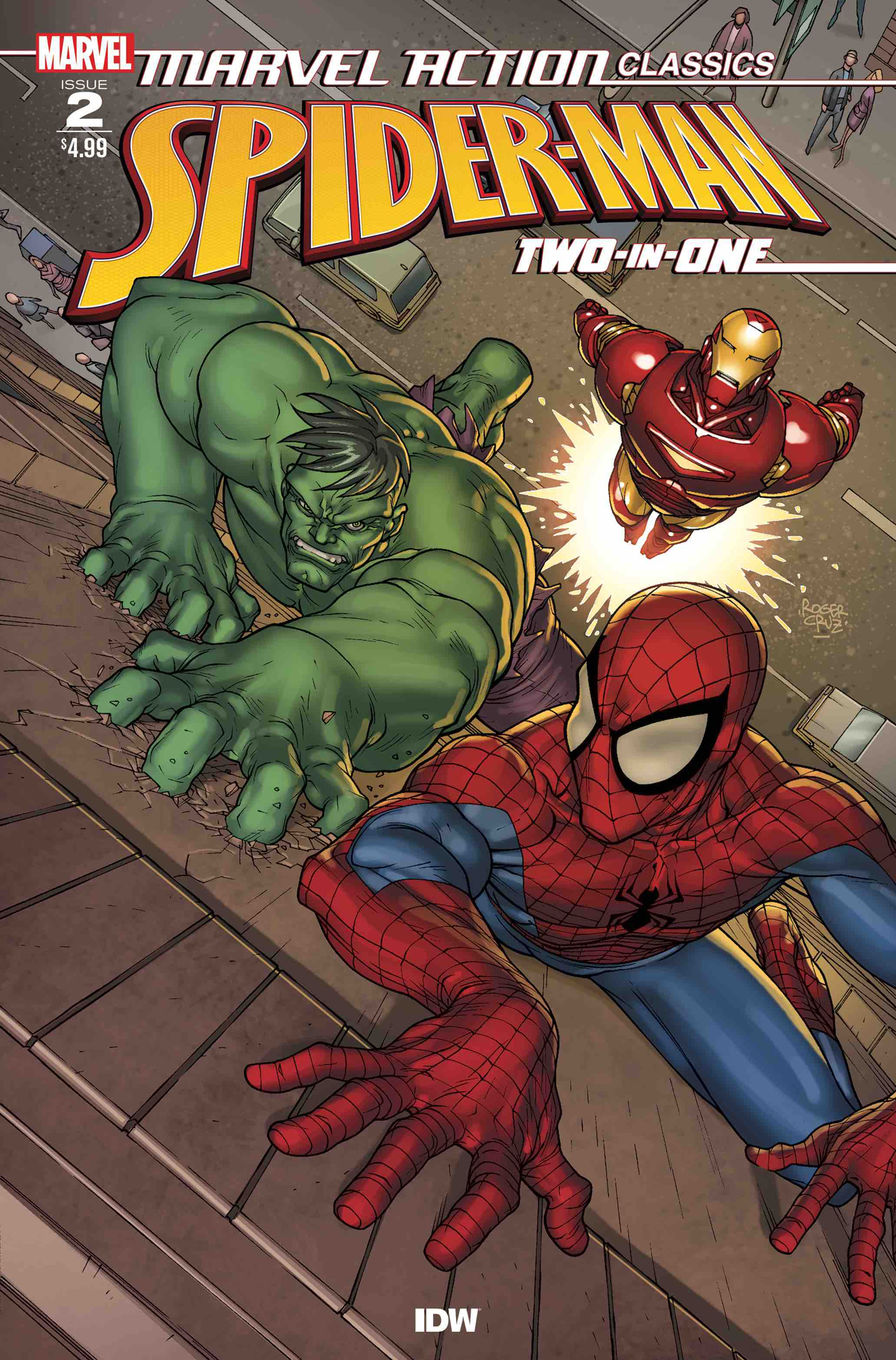 MARVEL ACTION CLASSICS SPIDER-MAN TWO IN ONE #1 SCHERBERGER