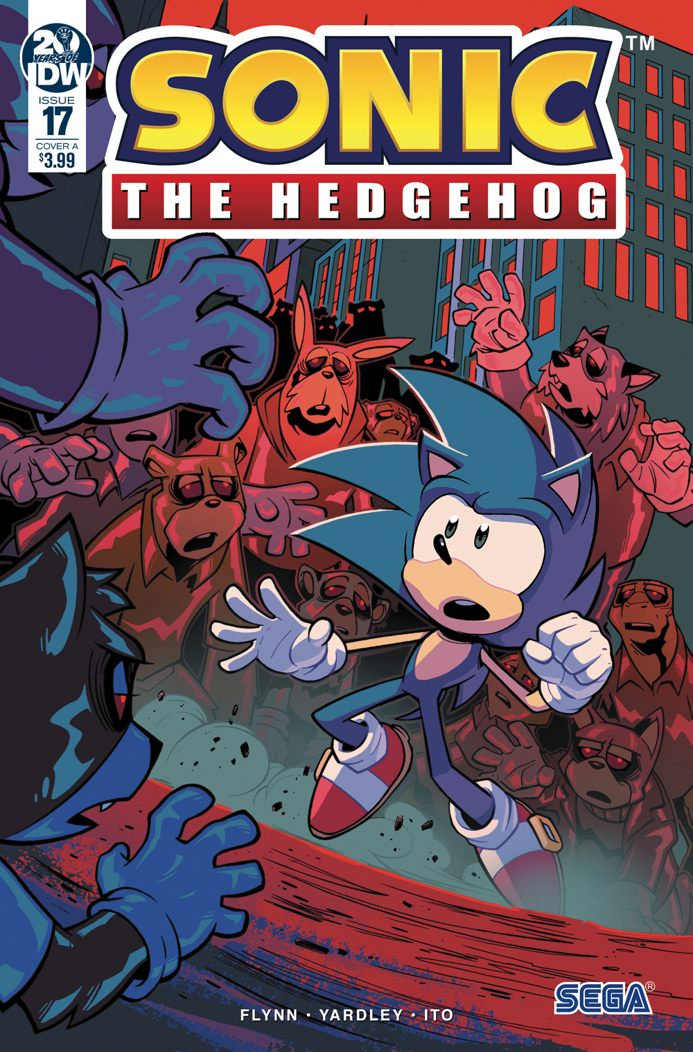 Sonic Source – Your Source for the Lastest IDW Sonic News