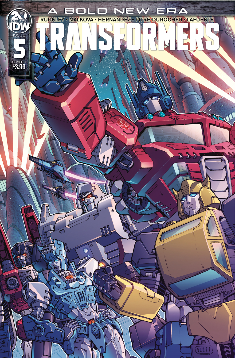 TRANSFORMERS #5 CVR A GRIFFITH