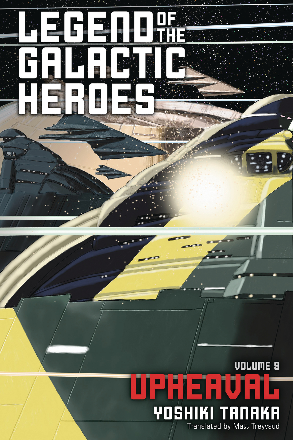 LEGEND OF GALACTIC HEROES SC NOVEL VOL 09