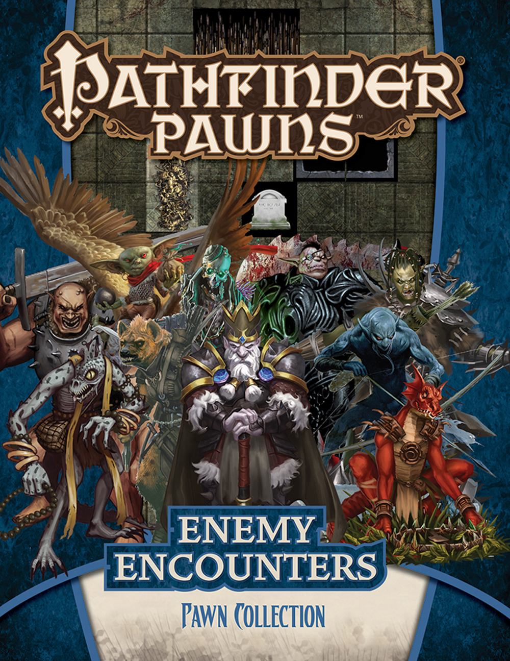 PATHFINDER RPG PAWNS ENEMY ENCOUNTERS COLL
