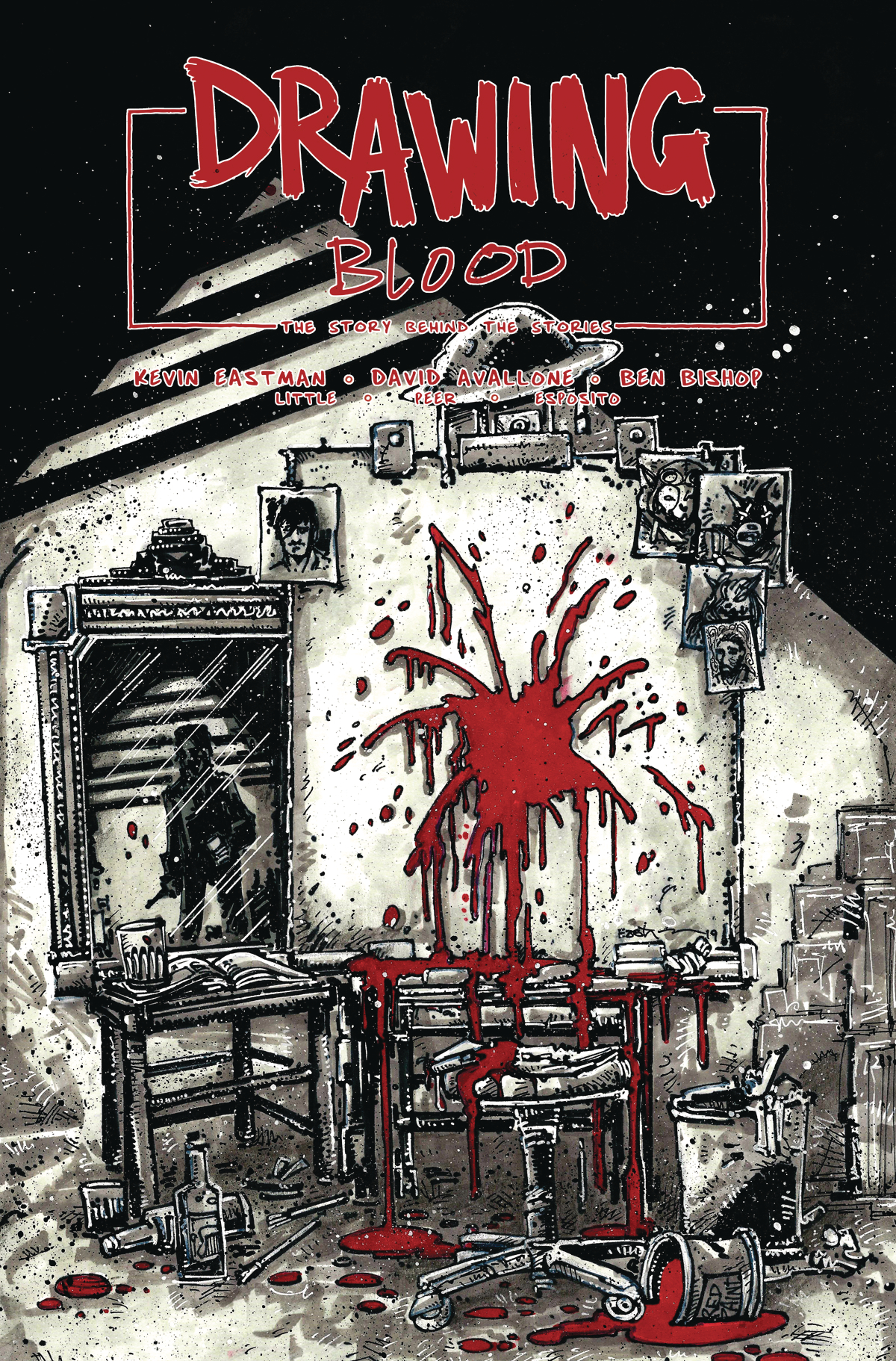 DRAWING BLOOD SPILLED INK #1 (OF 4) CVR B EASTMAN (MR)