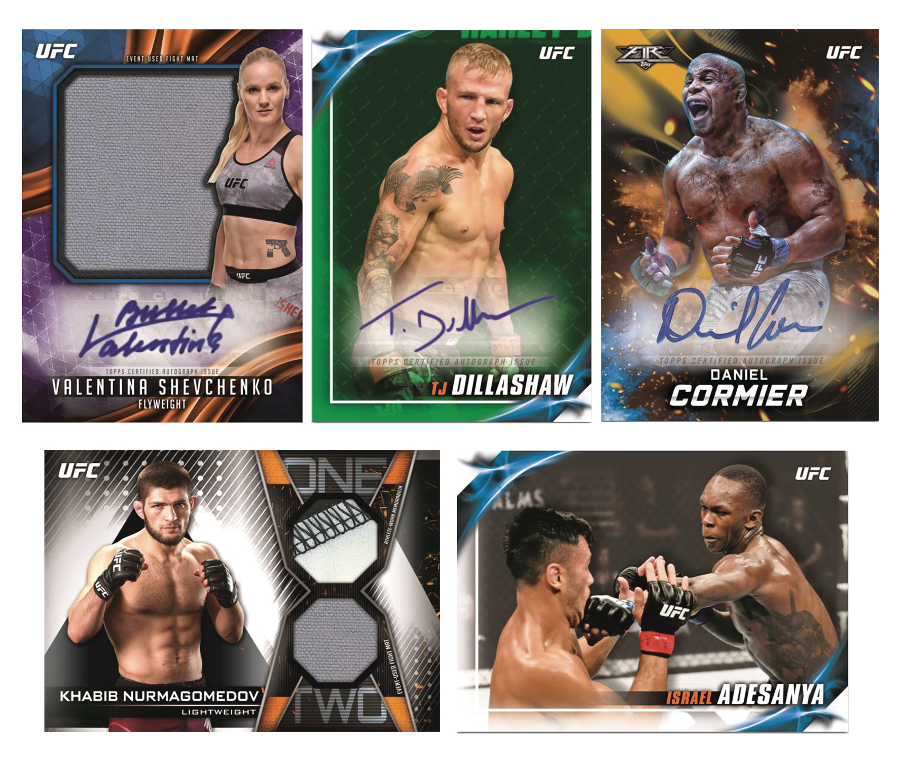 TOPPS 2019 UFC KNOCKOUT T/C BOX